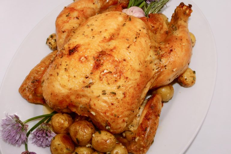 Air-Fried Roast Chicken