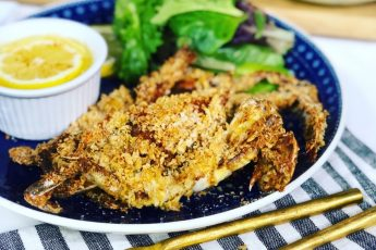 Air-Fried Softshell Crab